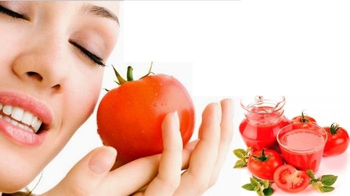 Trị mụn ẩn,trị mụn cám tại nhà cho nam và nữ bằng cà chua