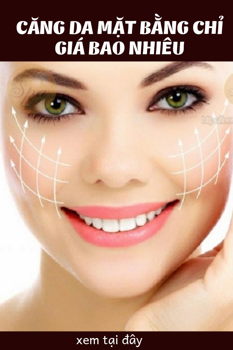 Tìm hiểu căng da mặt bằng chỉ collagen