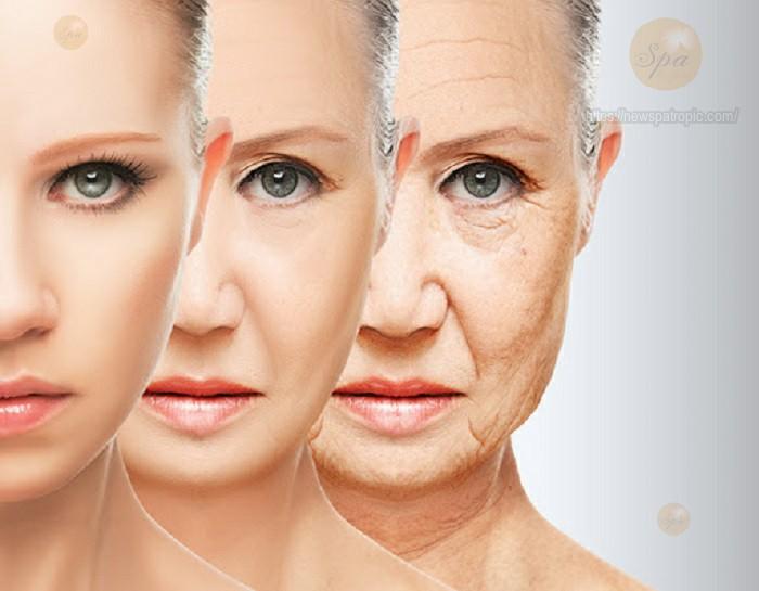 Chăm sóc sau khi căng da mặt collagen