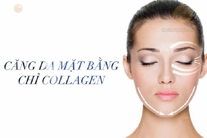 Tìm hiểu cách căng da mặt collagen